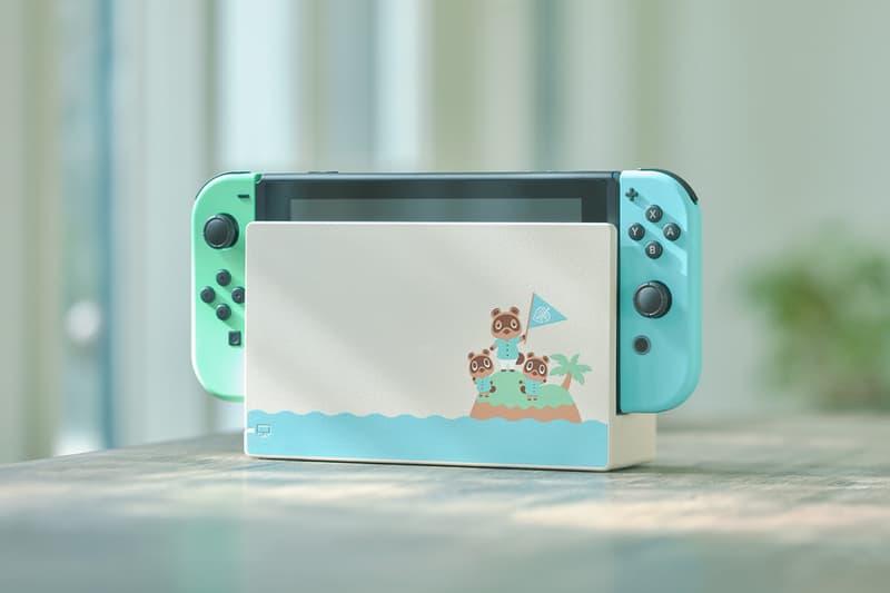Nintendo Switch Pastel Animal Crossing New Horizons March