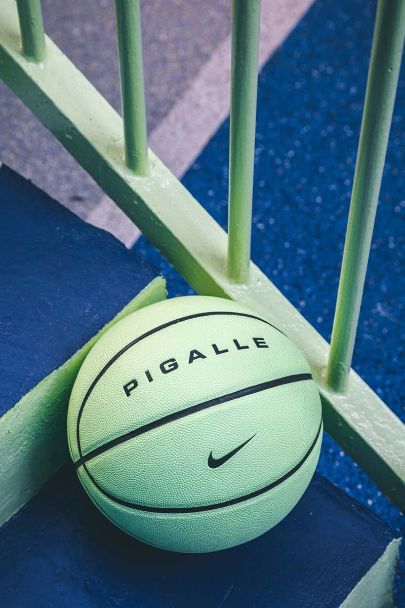 anfitriona Garantizar Humano  Pigalle, Nike Debut Pastel Basketball Court in Paris | HYPEBEAST