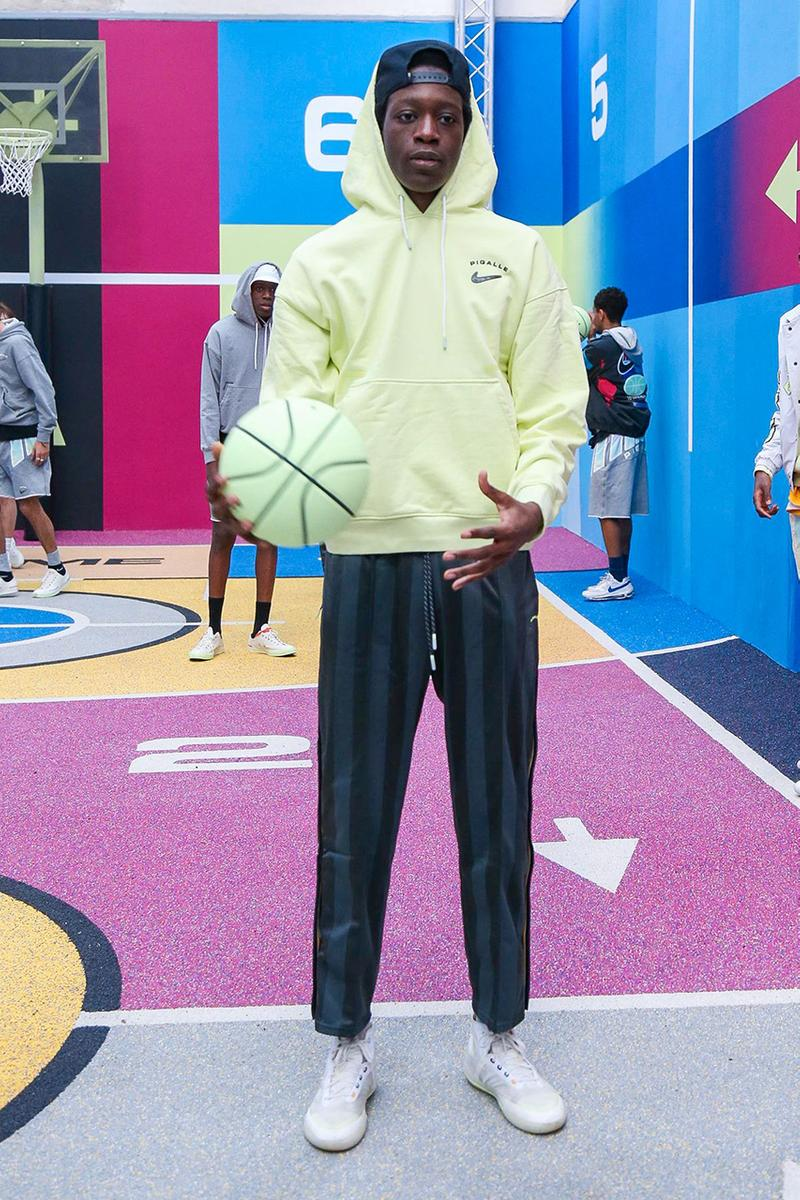 Pigalle Paris Fashion Week Men's Fall/Winter 2020 Collection Runway Presentation Collection Nike Court Borough High Collaboration Footwear Stéphane Ashpool Looks Report