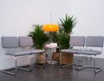 "pinqponq & THONET Collide on ""Vivid Monochrome"" Furniture"