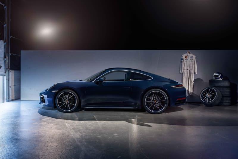 "Porsche 911 Carrera 4S 992 ""Belgian Legend"" Special Edition Jacky Ickx Blue Widebody Limited"