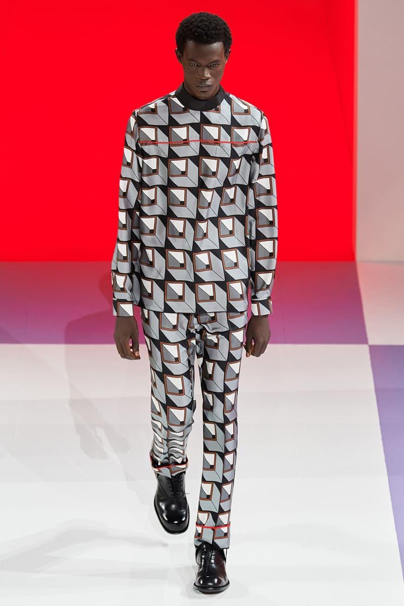 Prada Fall/Winter 2020 Menswear Runway Collection show presentation miuccia fw20 milan fashion week