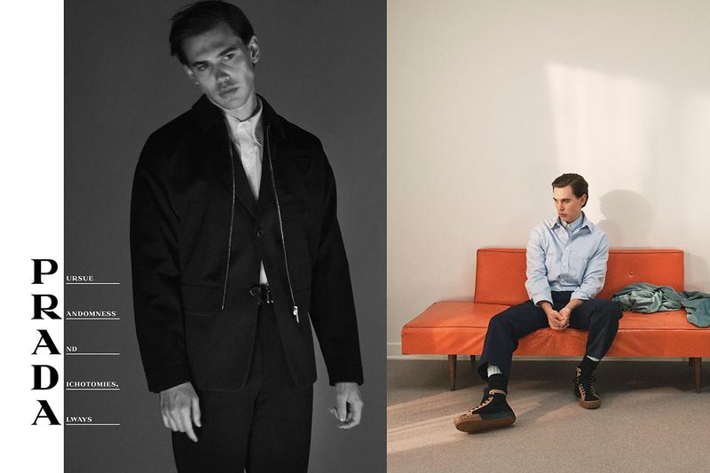 Prada Spring/Summer 2020 Campaign With Frank Ocean collection austin butler Nicolas Winding Refn david sims Ferdinando Verderi olivier rizzo menswear ss20