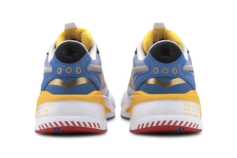 puma rs x3 sonic the hedgehog puma white goldenrod 373427 01 release date info photos price