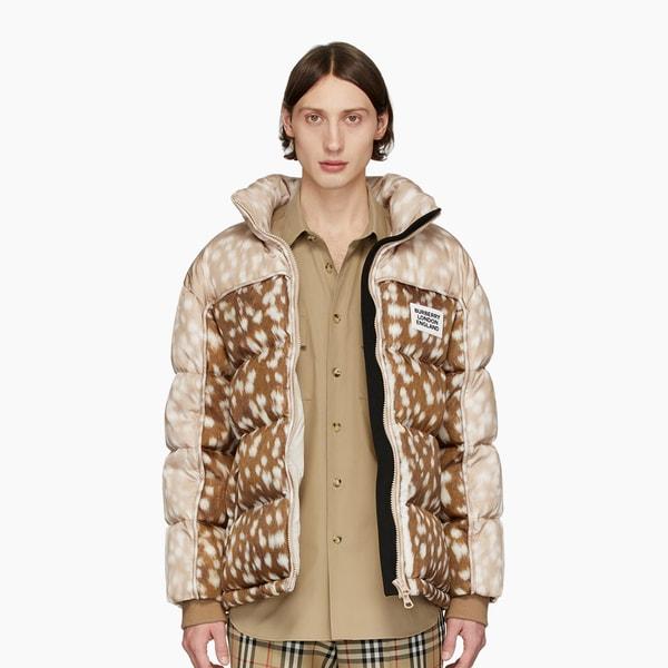Burberry Beige Down ECONYL® Barwick Jacket