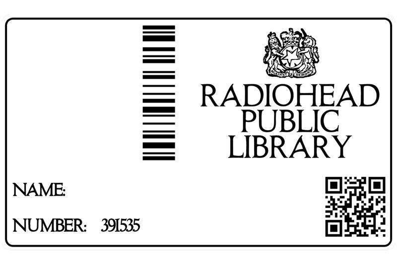 Radiohead Public Library - Archive of Rare Music Performances Cover Art Streams Albums EPs Thom Yorke Merch