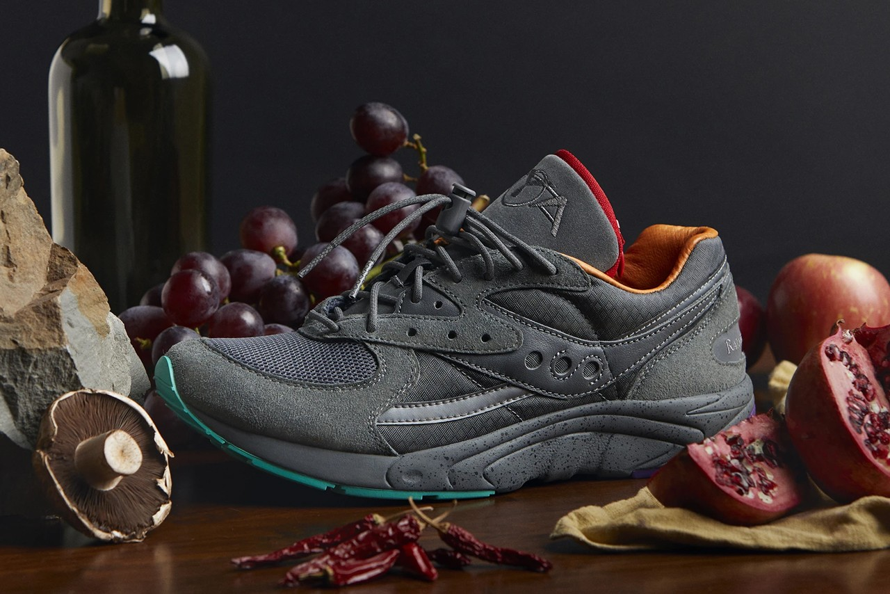 Raised By Wolves x Saucony AYA \