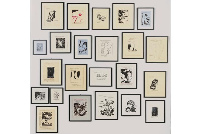 "Raymond Pettibon Los Angeles Modern Auctions ""Helter Skelter: L.A. Art in the 1990s"""
