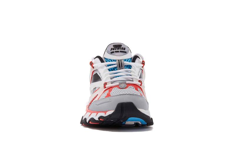 reebok dmx trail shadow premiere pack launch kicks running shoes red black green yellow blue white net a porter luisaviaroma 2000s aughts