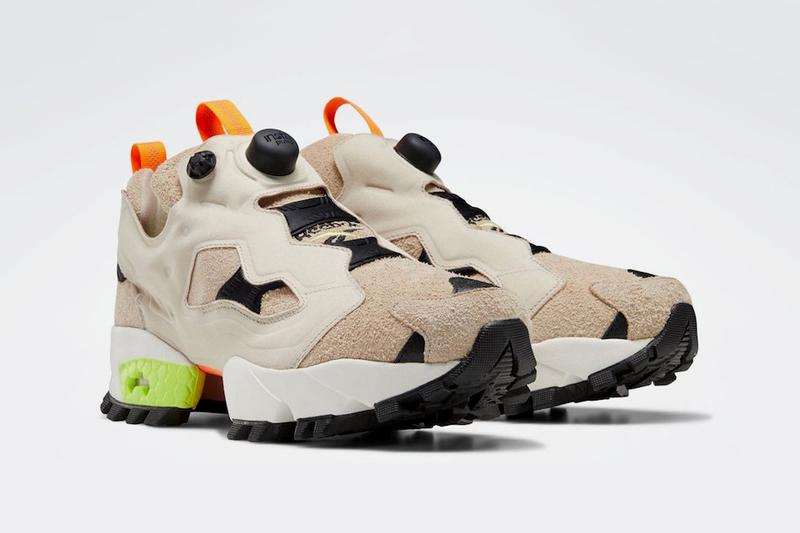 reebok instapump pump fury trail modern beige black neon lime true grey green slate EG3576 EG3577 release date info photos price