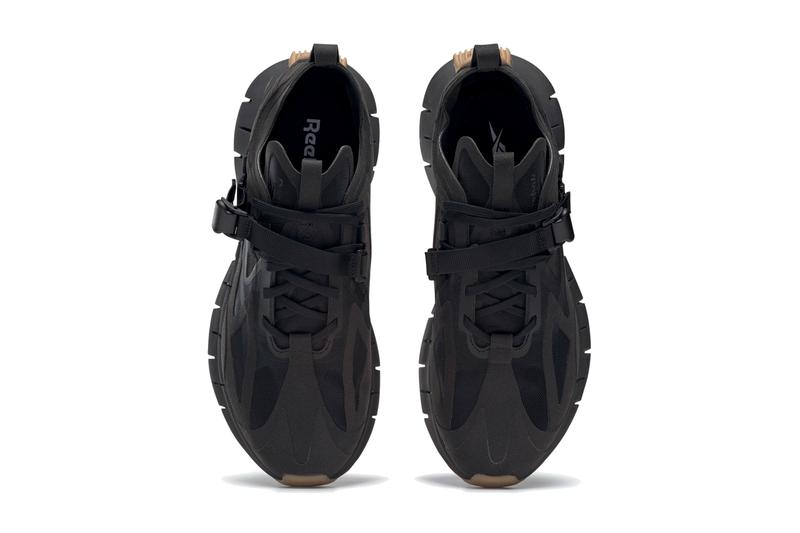 reebok zig kinetica zigtech black rubber gum 04 white FW3308 FW3309 release date info photos price