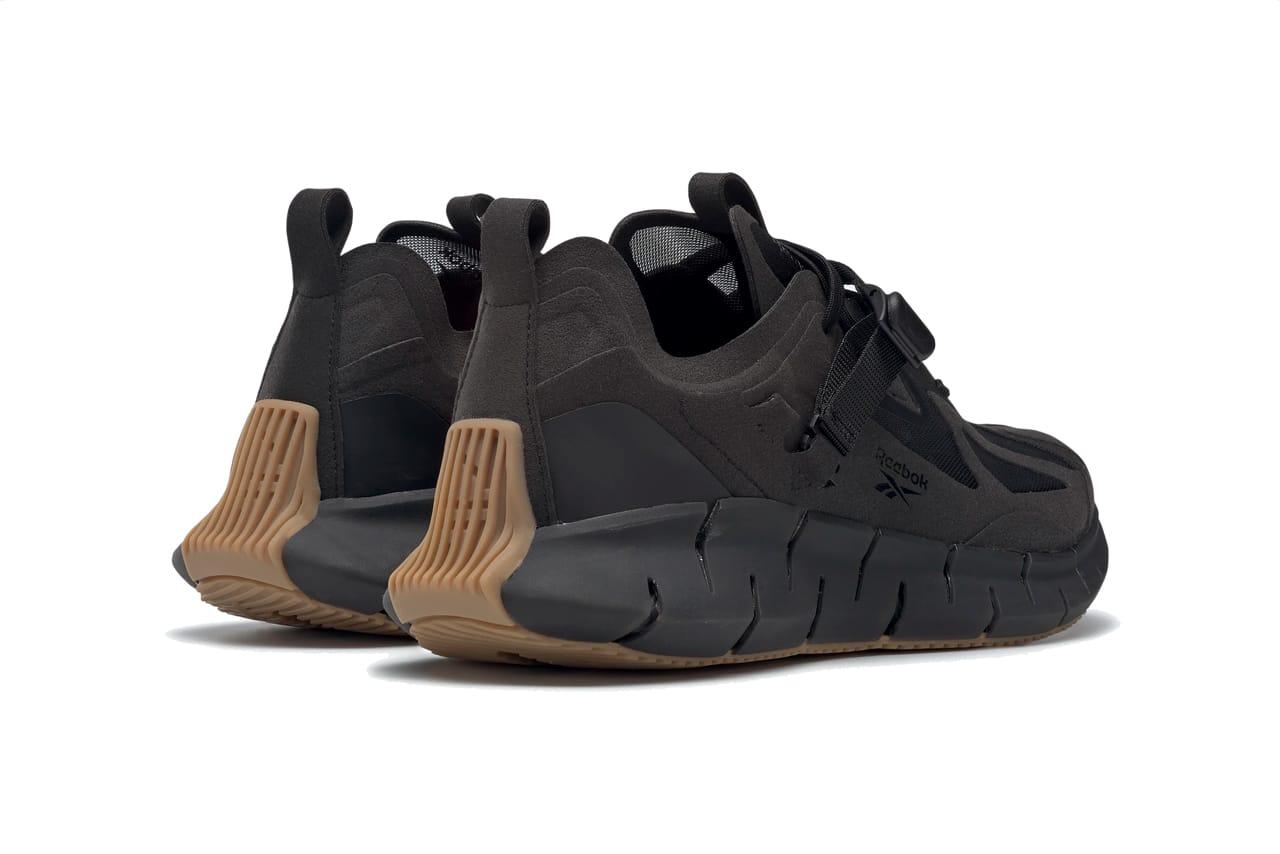 reebok classic black gum sole