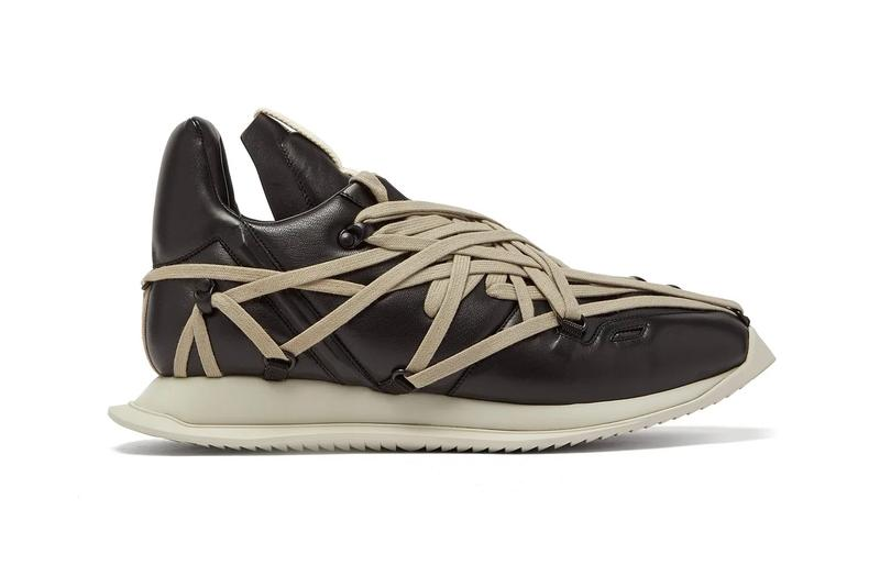 Rick Owens Maximal Runner Black Beige Release Info Date Buy Price MATCHESFASHION