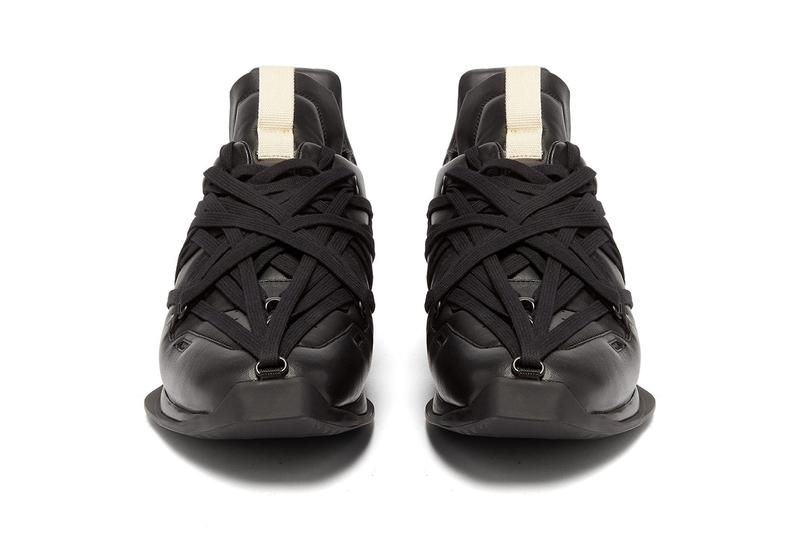 "Rick Owens Maximal Runner ""Black"" Sneaker Release Where to buy Price 2020"