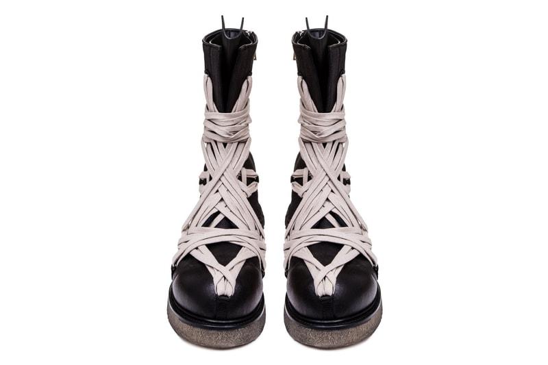 Rick Owens' Tecuatl Army Boots Get Mega Lacing Treatment