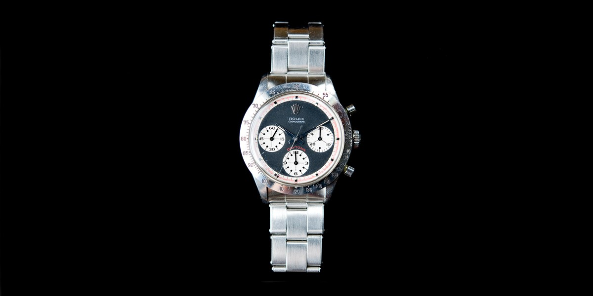 Unworn 1970s Rolex Oyster Paul Newman Appraisal