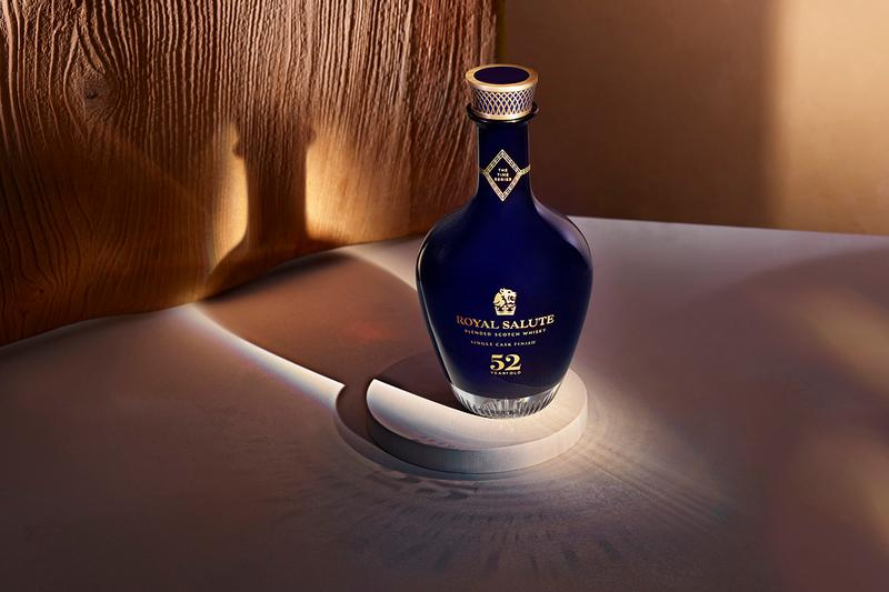 Royal Salute Releases Rare $30K Scotch Blend Time Series 52 Year Old whiskey luxury alcohol aged single cask