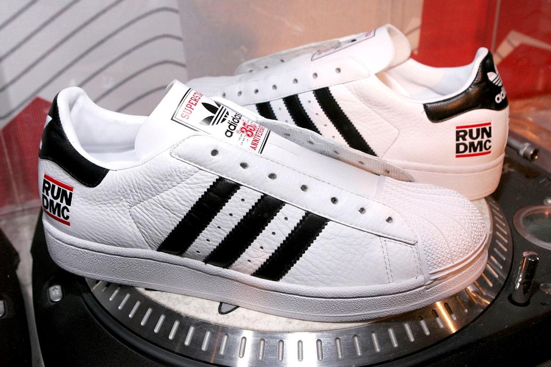 superstición Muy lejos incluir  Run-DMC x adidas Superstar 50th Anniversary Collab Rumors | HYPEBEAST