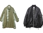 sacai Deconstructs Military-Inspired Jackets for New Store Opening