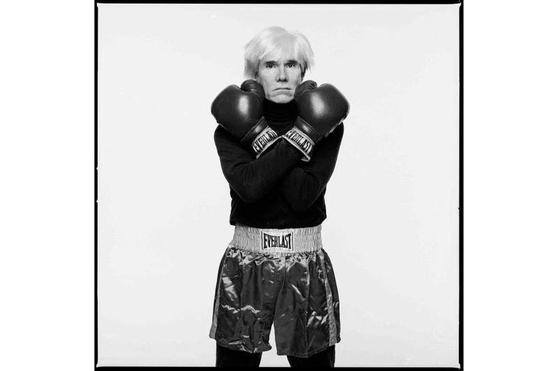 everlast saint laurent everlast collaboration boxing collection jean michel basquiat andy warhol photographs michael halsband photographer