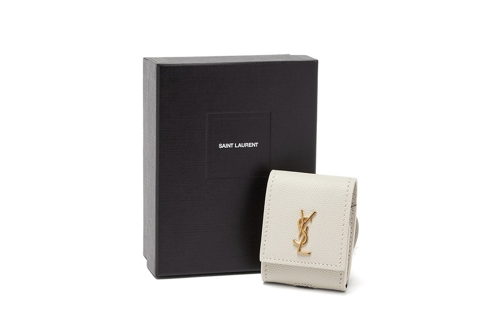 Saint Laurent Grained Leather Earphones Case Release Where to buy Price 2020