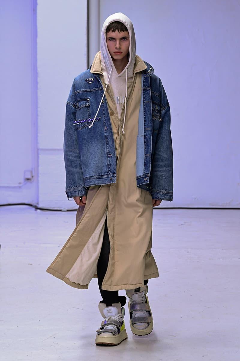 SANKUANZ Fall Winter 2020 Runway Collection Paris Fashion Week adidas Originals Shangguan Zhe