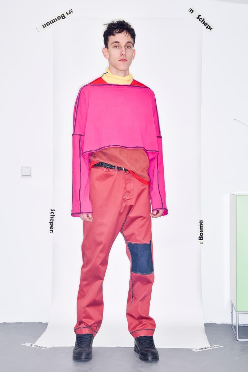Schepers Bosman Fall/Winter 2020 Collection lookbooks paris fashion week men's dutch amsterdamn