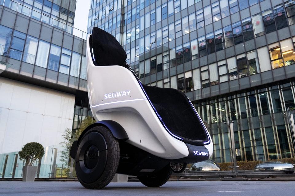 Segway Reveals S-Pod Motorized Chair
