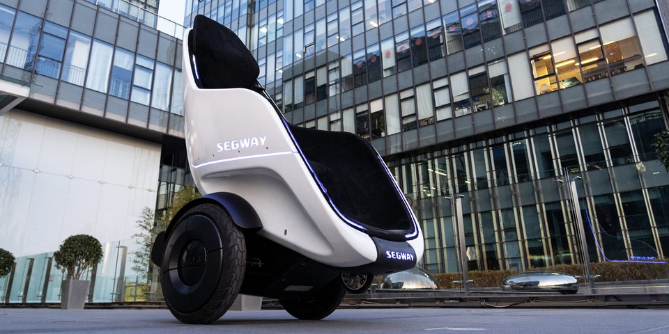 Segway Reveals S-Pod Motorized Chair