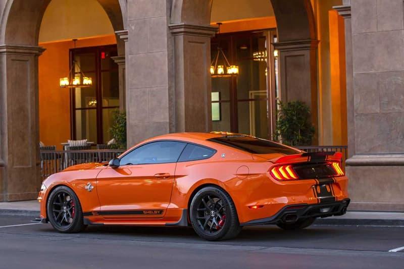 2020 Shelby Super Snake Bold Mustang 825 Horsepower Orange performance supercharger speed supercars horsepower racing Borla