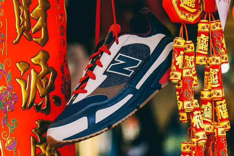 shoe palace new balance x racer chinese new year of the rat cny black red gold tan release date info photos price