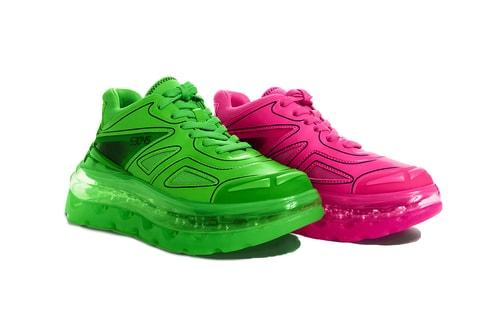 """Shoes 53045 Drops Eccentric Mismatched Bump'Air """"Neon Series"""""""
