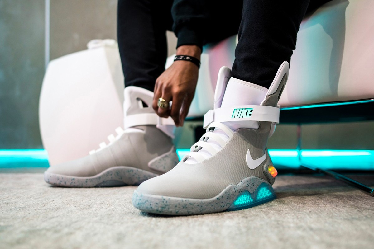 Man Finds Six Nike Mags in Expired
