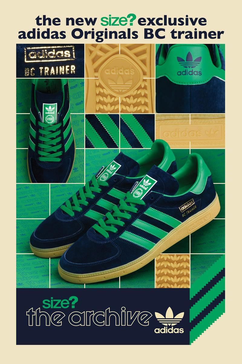 size adidas originals bc trainer navy green gum release date info photos price