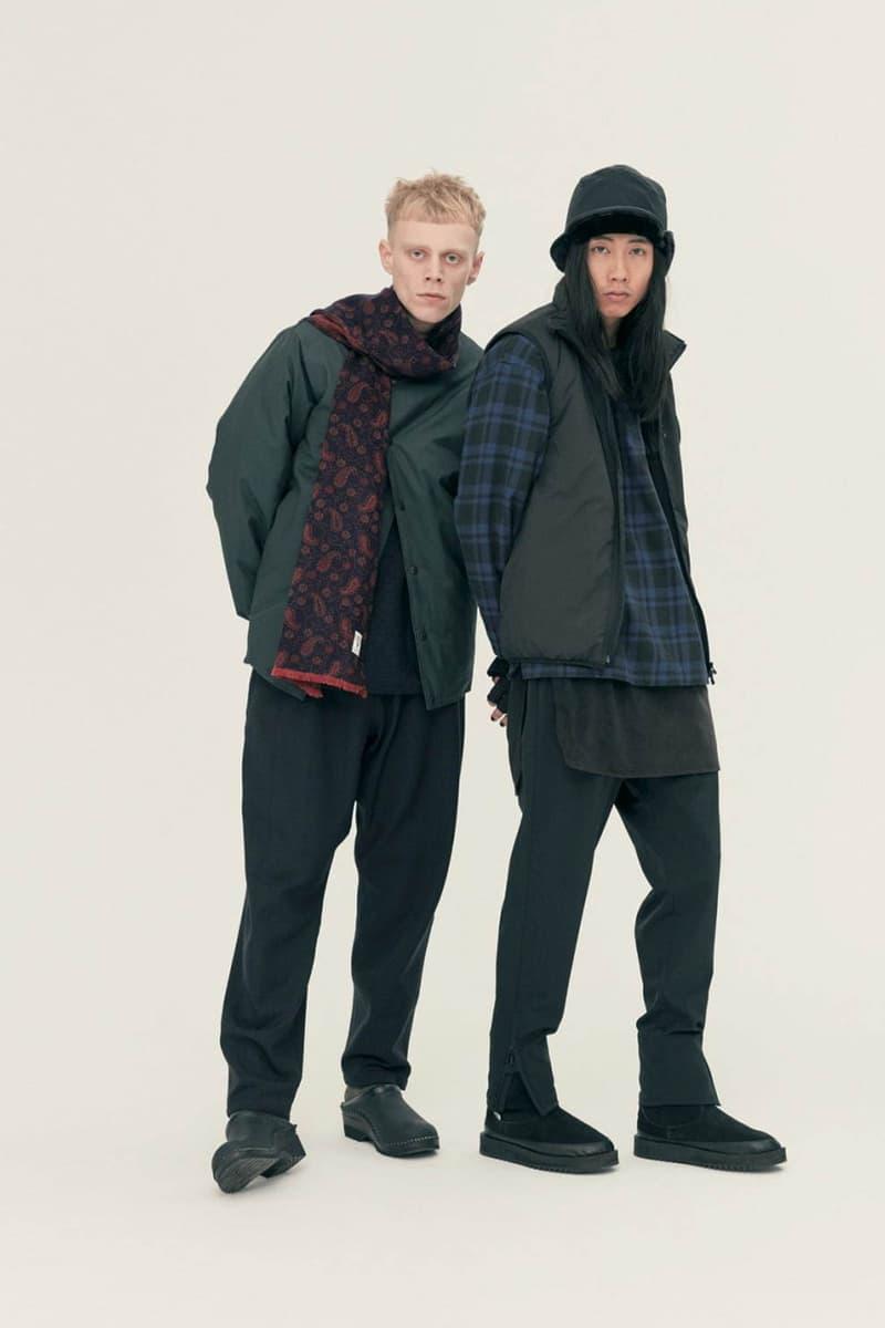 South2 West8 Fall Winter 2020 Lookbook cozy textiles fishing outdoor functional utility technical hi tech nepenthes keizo shimizu daiki suzuki japanese designer jackets waterproof