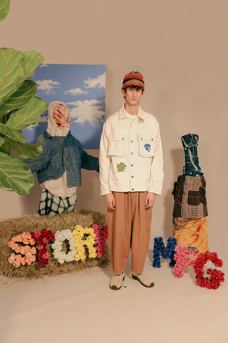 story mfg saeed katy al rubeyi collection fall winter 2020 sustainable vegan natural hoodie fleece jacket scarf lookbook inner reaches buy cop purchase