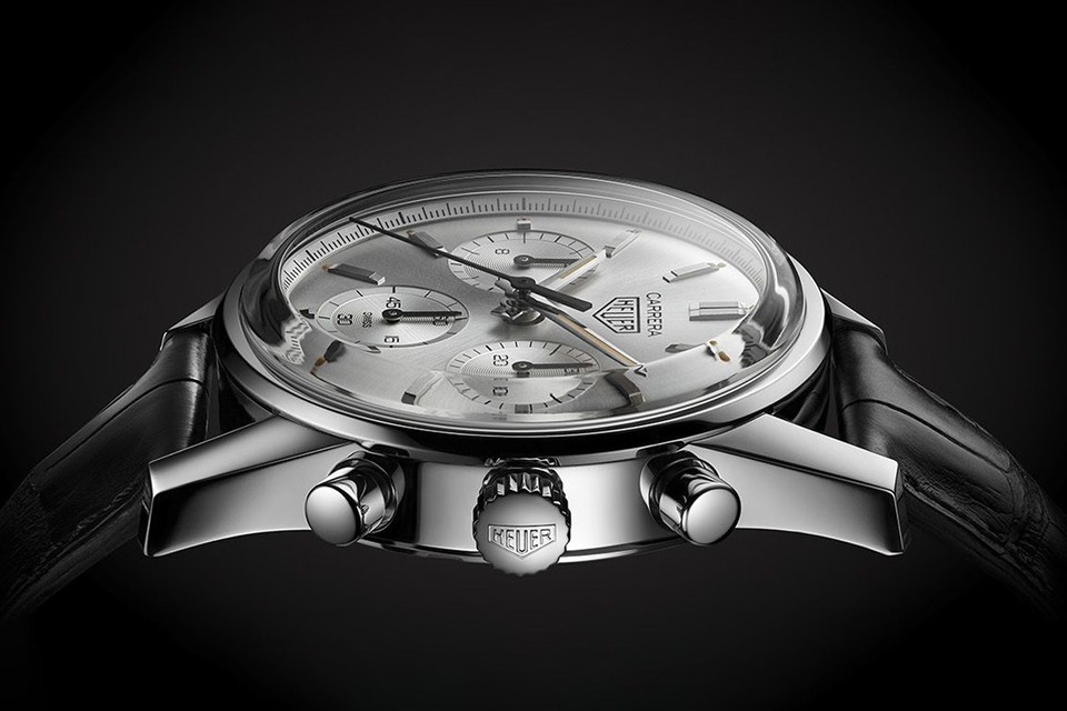 TAG Heuer Celebrates 160th Anniversary With Limited-Edition 1964 Carrera Reissue