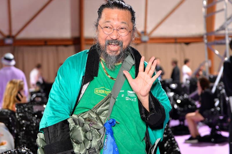 Takashi Murakami Tonari no Zingaro Lucky Bag 2020 mystery bag 200000 yen collectibles raffle in store happy new year souvenir shop tokyo exhibit gallery artist duffle sunflower