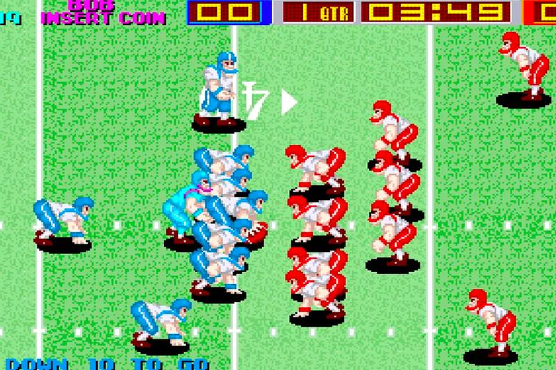 tecmo bowl super football nfl arcade archives playstation 4 nintendo switch hamster corporation