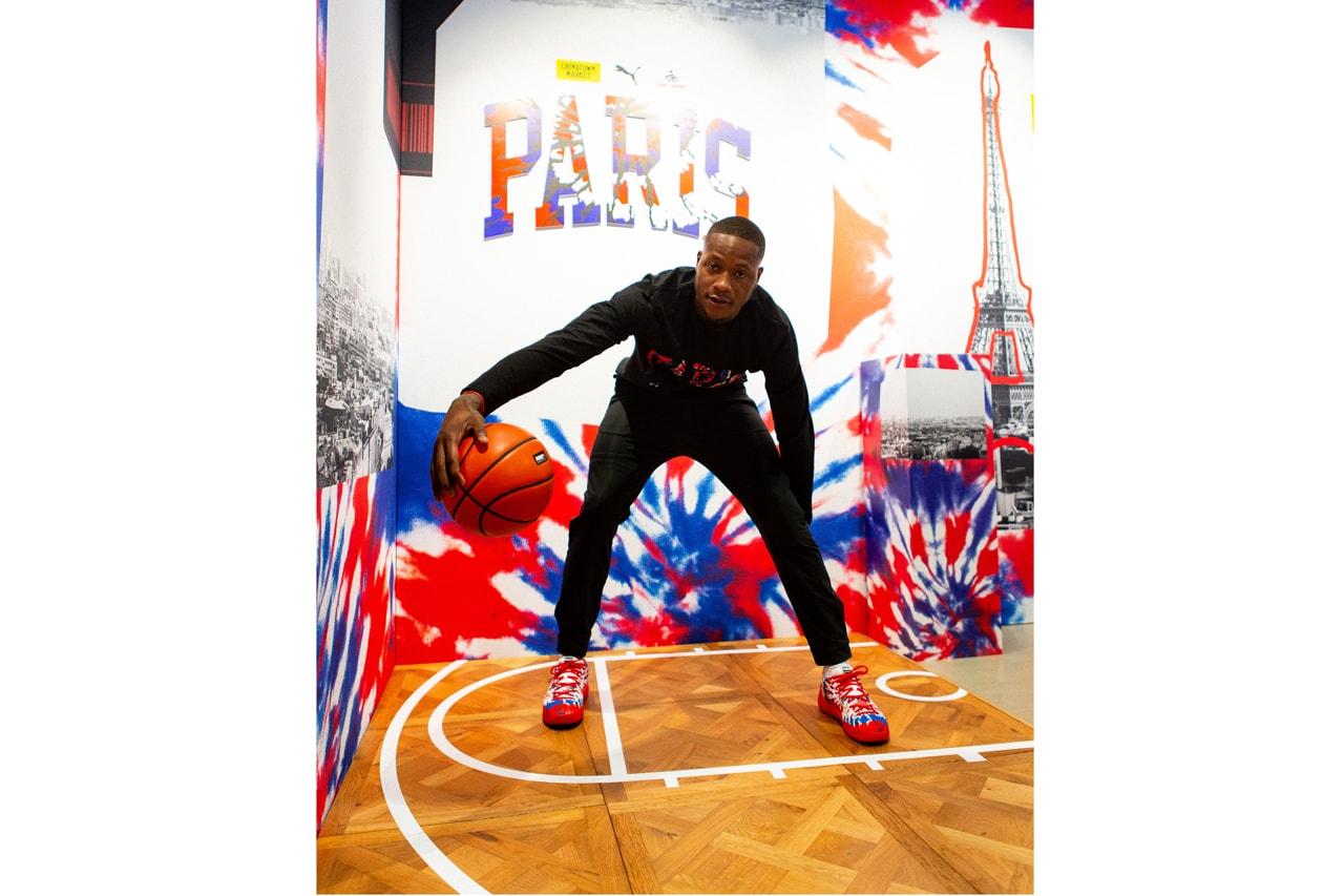 puma chinatown market nba paris france basketball sneaker shoe launch terry rozier charlotte hornets milwaukee bucks