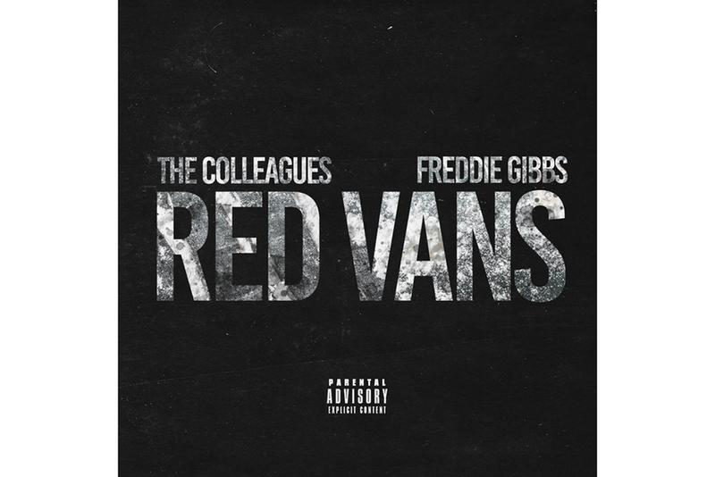 "The Colleagues ""Red Vans"" Ft. Freddie Gibbs Single Stream hip-hop rap spotify apple music listen now"