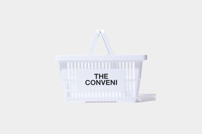 THE CONVENI Shopping Basket Release Info Date Price Buy White Black fragment design hiroshi Fujiwara