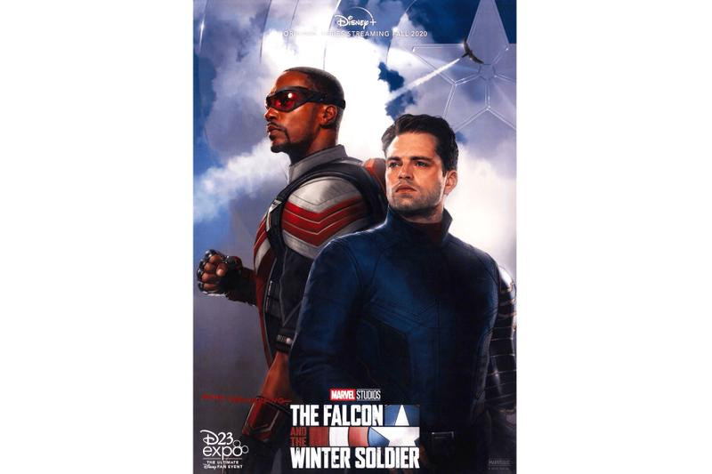 The Falcon and the Winter Soldier Official Poster disney+ plus marvel studios marvel cinematic universe Sebastian Stan Anthony Mackie