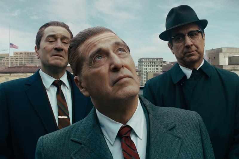 'The Irishman' De-Aging Special Effects Video netflix martin scorsese robert de niro al pacino paint houses joe pesci  gangster movie film