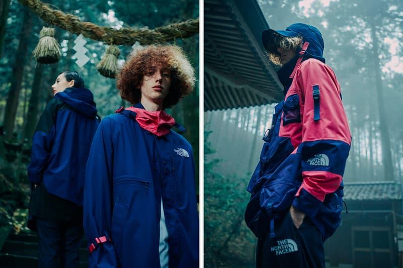 The North Face Urban Exploration Kazuki Kuraishi Spring Summer 2020 Capsule collection collaborations pink lemon technical outerwear jackets goretex