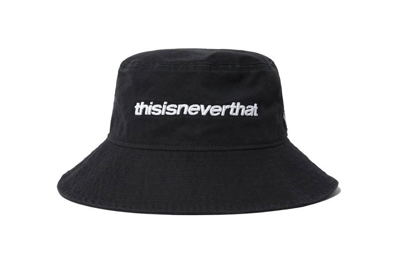 thisisneverthat New Era Spring Summer 2020 Capsule collection embroidery logo bucket hat baseball cap backpack tenchical funtional utility bags crossbody pouch satchel mini