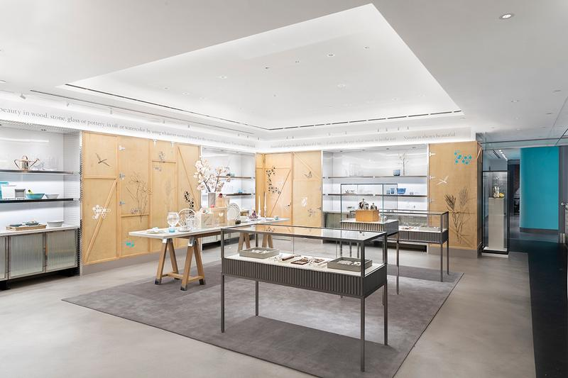 Tiffany & Co. Opens Temporary Flagship Next Door Location luxury jewelry fifth ave retail shopping atrium