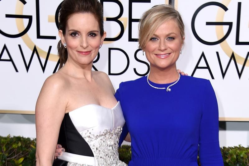 Tina Fey Amy Poehler Host 2021 Golden Globes awards ricky gervais 30 rock parks and recreation