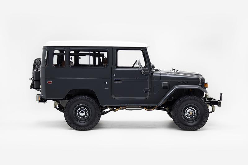 Todd Snyder x The FJ Company x Red Wing Heritage FJ43 Land Cruiser Release Information Closer Look Customization Classic Off Roader 4x4 4WD Toyota Leather $195000 USD