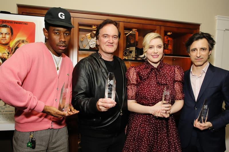 Tyler, The Creator Wins Maverick Award Kodak Film Awards Quentin Tarantino Once Upon A Time In Hollywood Noah Baumbach Greta Gerwig Odd Future